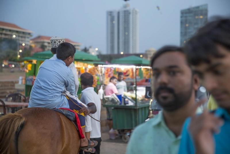 Sri Lanka - muslim boys on horse
