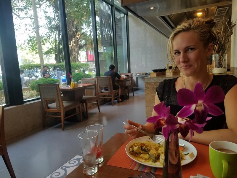 Sri Lanka - Hilton buffet