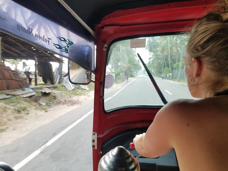 Sri Lanka - me tuk tuk